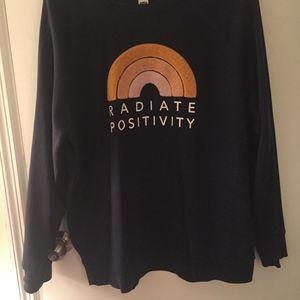 """Radiate Positivity"" Sweater"